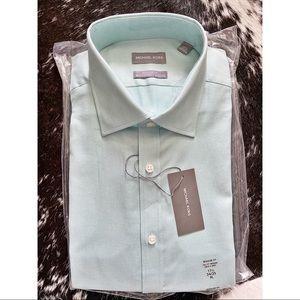 Michael Kors Regular Fit Performance Dress Shirt